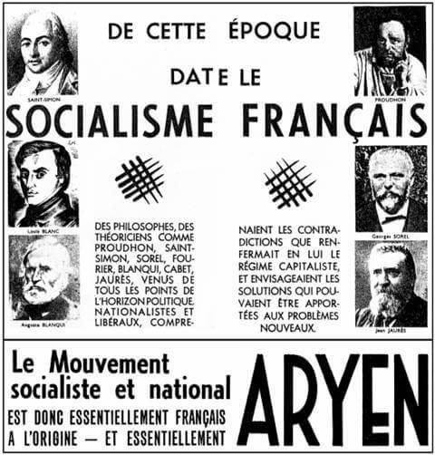 De cette époque date le socialisme français