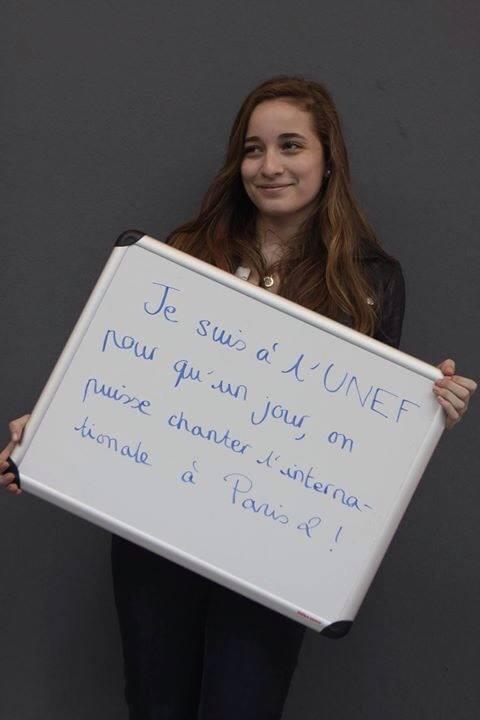 Chanter l'internationale à Paris 2