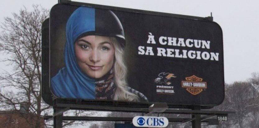 A chacun sa religion