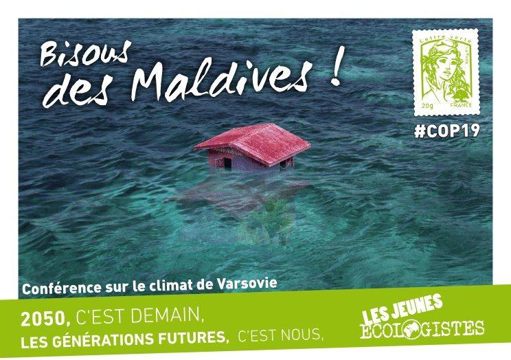 Bisous des Maldives