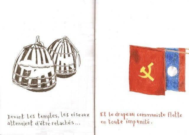 Et le drapeau communiste flotte en toute impunité