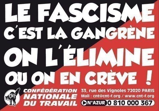 Le fascisme, c'est la gangrène