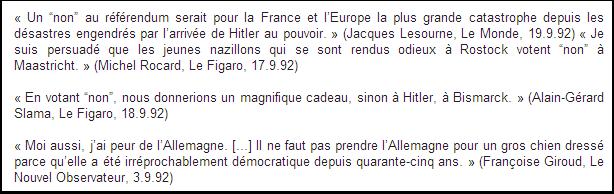 Françoise Giroud aussi a peur de l'Allemagne