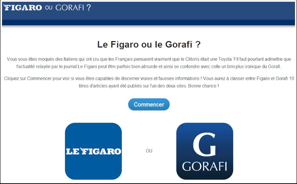 Gorafi ou Figaro ?