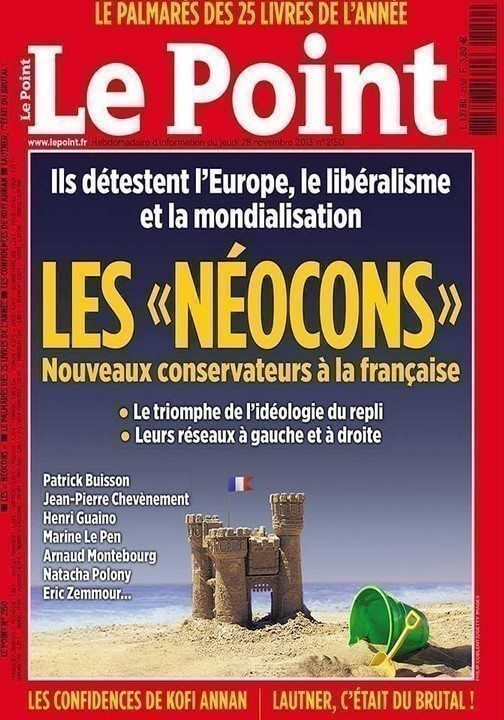 Les néocons, nouveaux conservateurs à la française