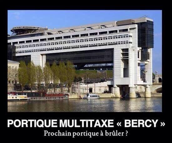 "Portique multitaxe ""Bercy"""
