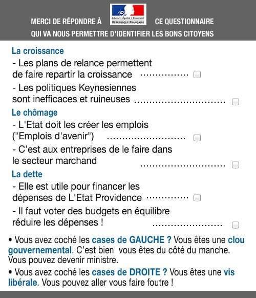 Questionnaire : êtes-vous un bon citoyen français ?