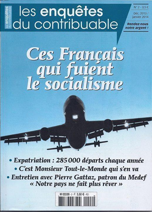 Ces Français qui fuient le socialisme