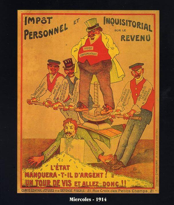 Impôt personnel et inquisitorial sur le revenu