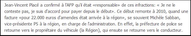 Jean-Vincent Placé ne conteste pas