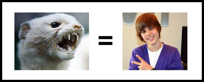 Racisme anti Justin Bieber