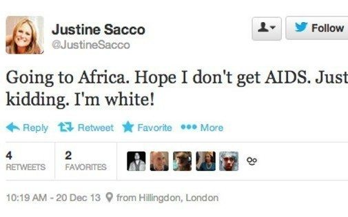 Justine Sacco is just kidding