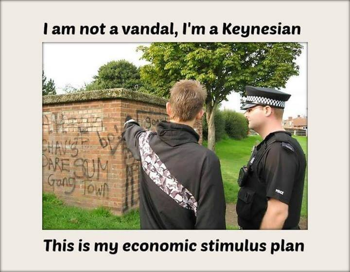 Je suis Keynésien