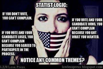 Logique étatiste du jour : le vote