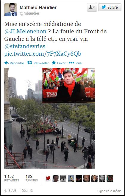 TF1 aime Mélenchon