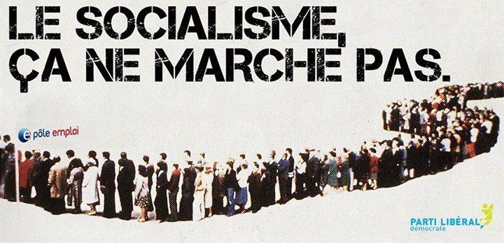 Le socialisme, ça ne marche pas