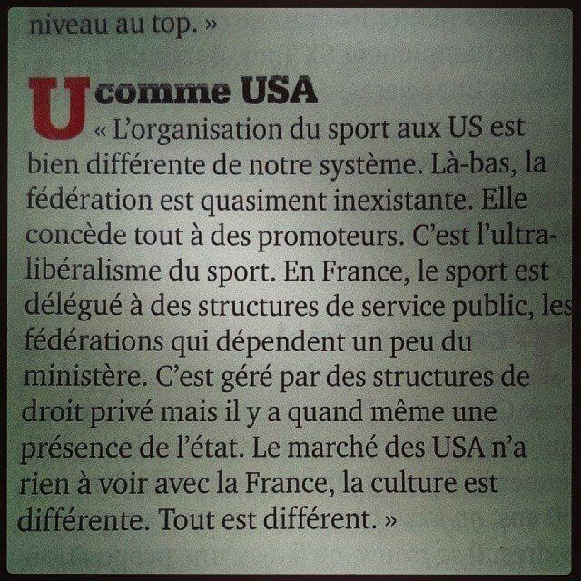 L'ultra-libéralisme du sport
