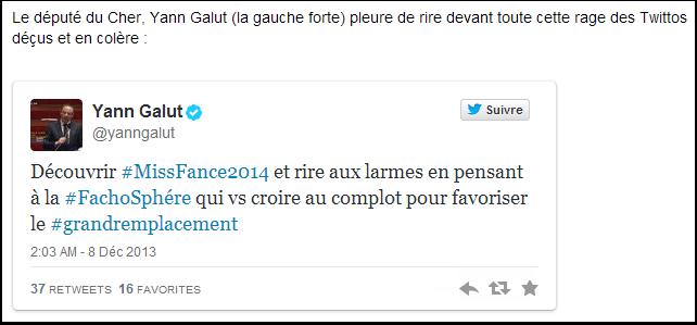 Yann Galut n'aime plus les théories du complot