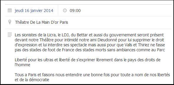 Une France morte sans ambiance, comme au Parc