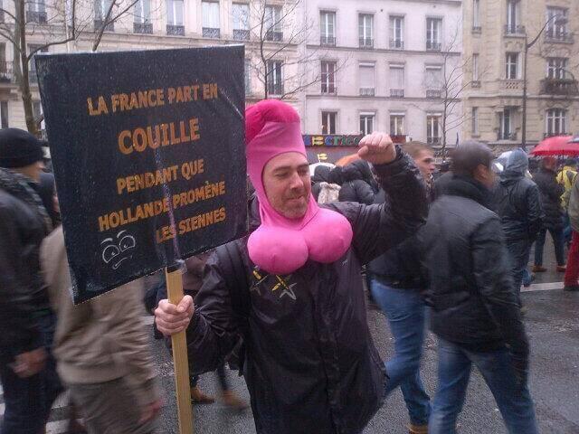 Hollande se promène