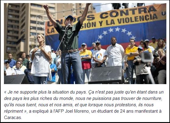 Le Venezuela, paradis socialiste