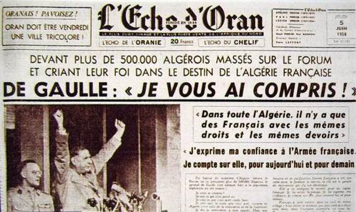 De Gaulle nous a compris
