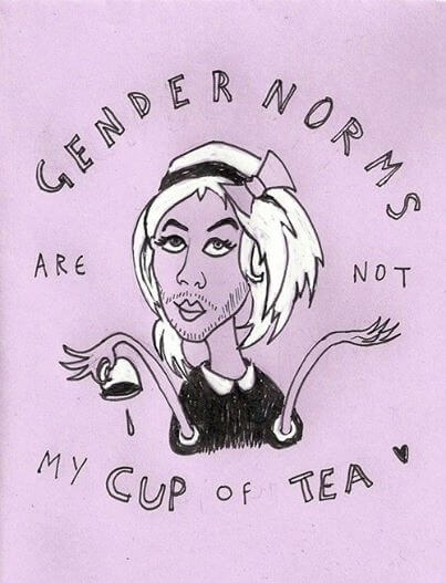 Gender norms are not my cup of tea