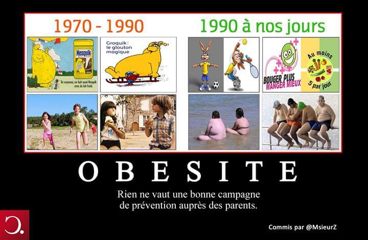 Campagne de prévention contre l'obésité