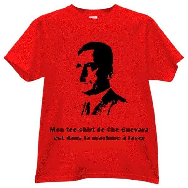Mon tee-shirt de Che Guevara est dans la machine à laver