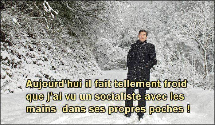 J'ai vu un socialiste les mains dans les poches
