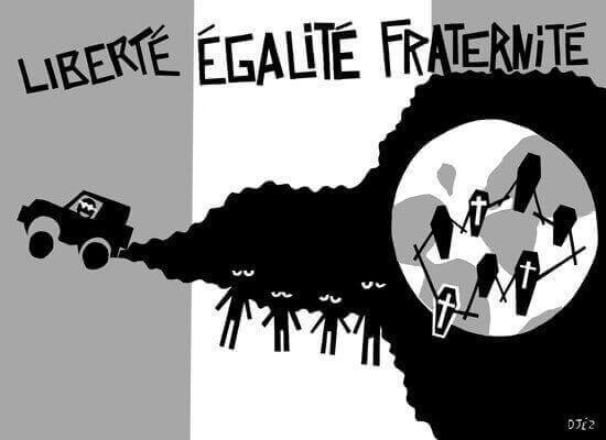 Liberté égalité fraternité mai 2008