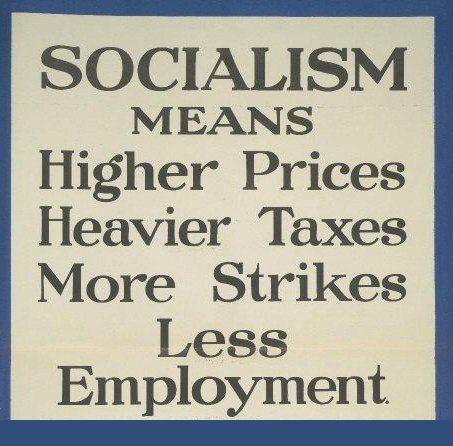 Socialism means…