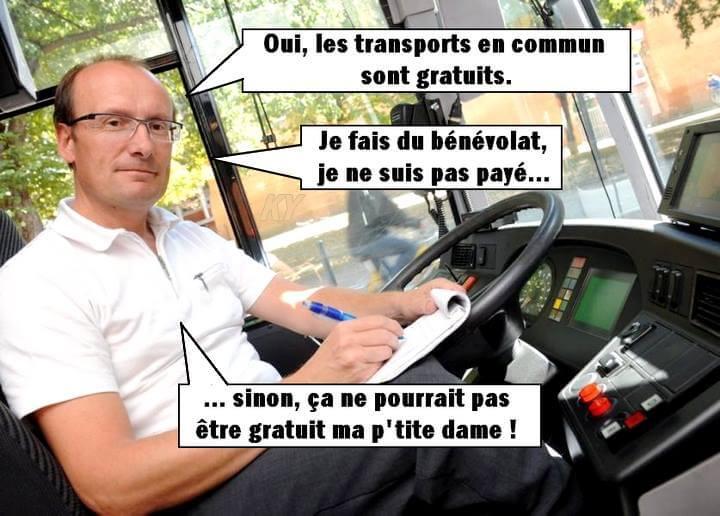 Transports en commun gratuits