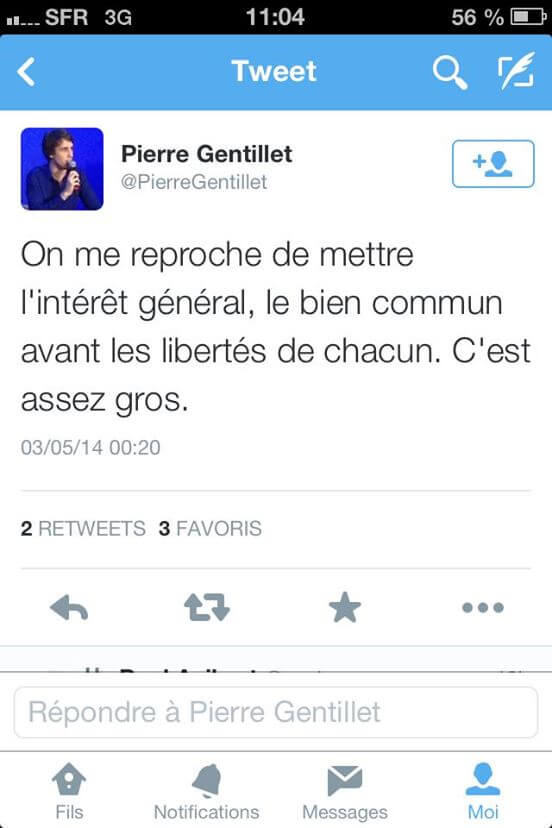 Pierre Gentillet est assez gros