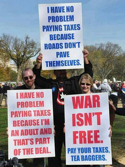 War isn't free