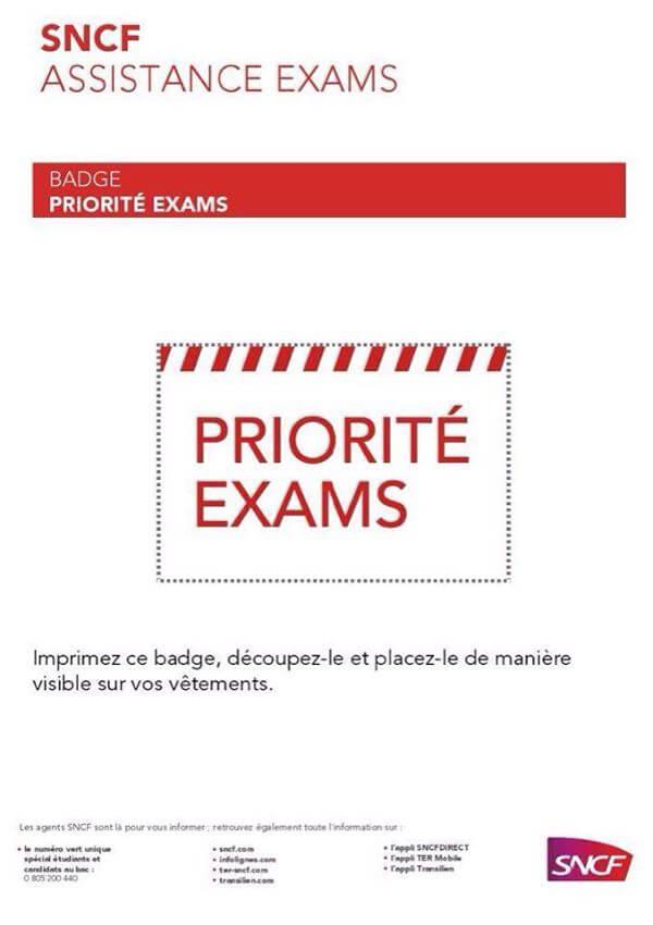 Priorité Exams