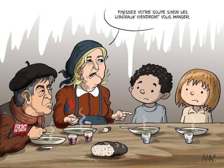 Les libéraux mangent les enfants
