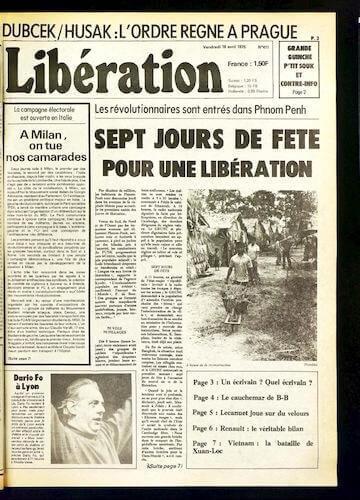 Sept jours de fête pour une libération
