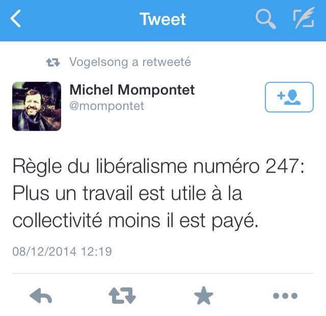 Michel Mompontet sait ce qui est bon pour vous