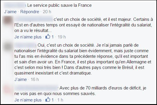 Le service public sauve la France